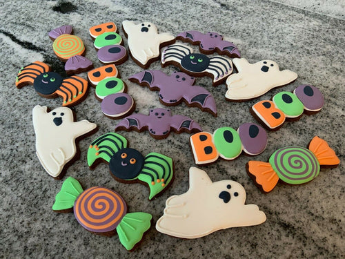 Set of Halloween Cookie Cutters
