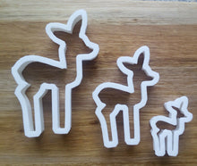 Load image into Gallery viewer, Deer Cookie Cutters
