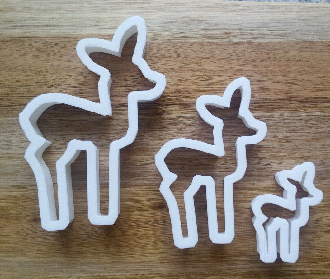 Deer Cookie Cutters