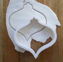 Load image into Gallery viewer, Christmas Bauble Cookie Cutter Dough Teardrop Regular XM8