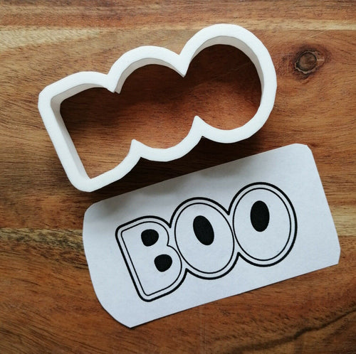 Boo Outline Cookie Cutter