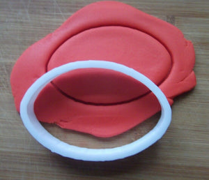 Rugby Ball Cookie Cutter Demo