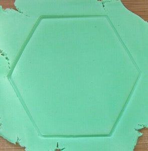 Bumble Bee Cookie Cutter with Hexagon Bee Hive