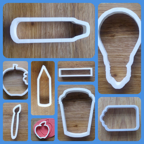 Teacher Gift Cookie Cutter collection