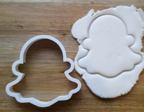 Snapchat Ghost Cookie Cutter