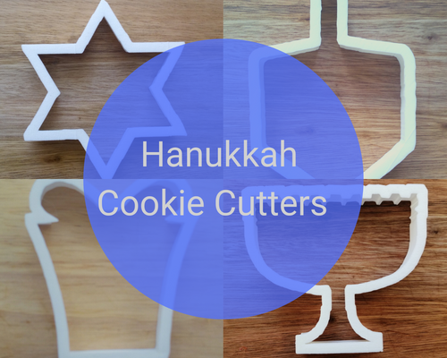 Hanukkah Cookie Cutter Set