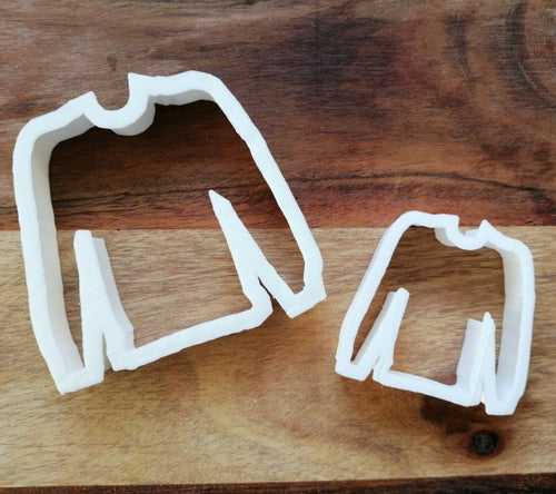 Jumper Cookie Cutter in 2 sizes