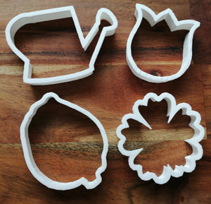 Watering Can Cookie Cutter Collection