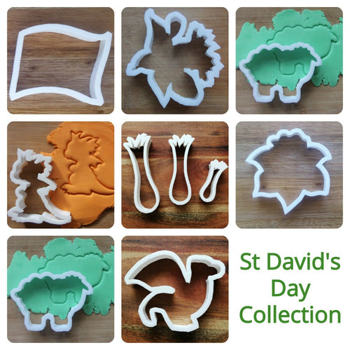 St David's Day Cookie Cutter Collection