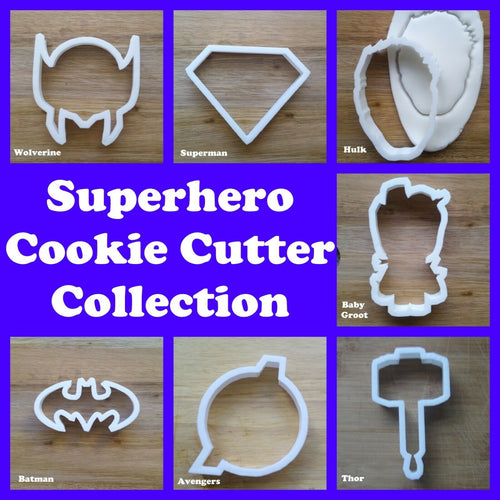 Superhero Cookie Cutter Collection