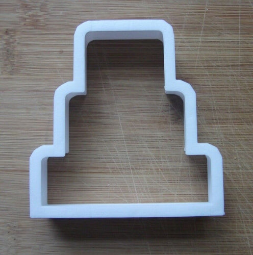 Wedding Cake cookie Cutter