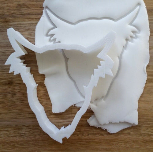 Highland Cow Cookie Cutter Demo