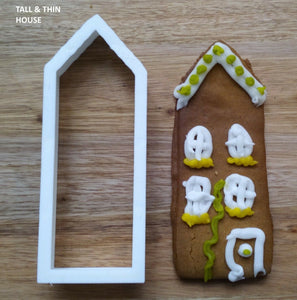 Tall Thin House Cookie Cutter