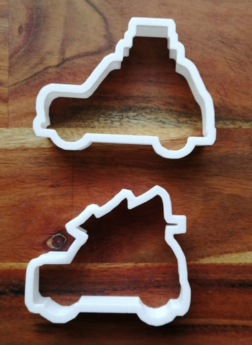 Set of two car cookie cutter