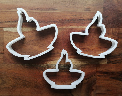 Diwali Candle Cookie Cutters set of 3