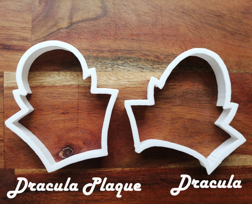 Set of two Dracula Cookie Cutters