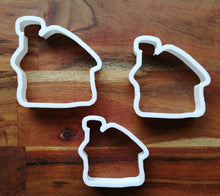 Load image into Gallery viewer, Set of 3 gingerbread House Cookie Cutters