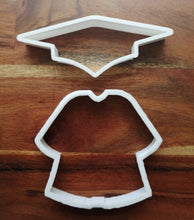 Load image into Gallery viewer, Graduation Gown Cookie Cutters