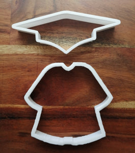Graduation Gown Cookie Cutters