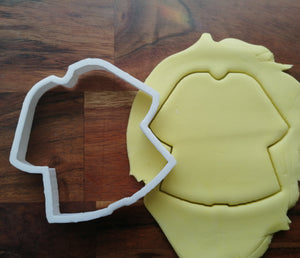 Graduation Gown Cookie Cutter Icing