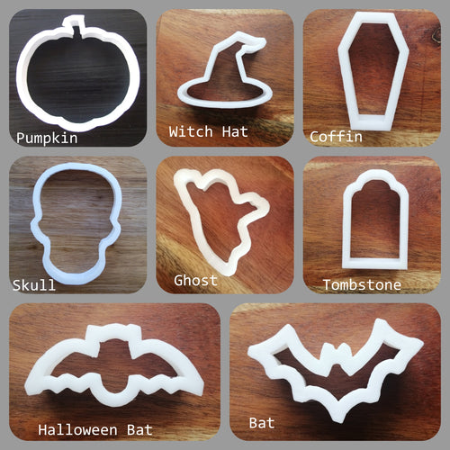 Mini Halloween Cookie Cutter collection