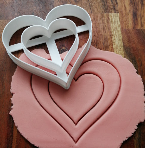 Heart Cut Out Cookie Cutter Demo