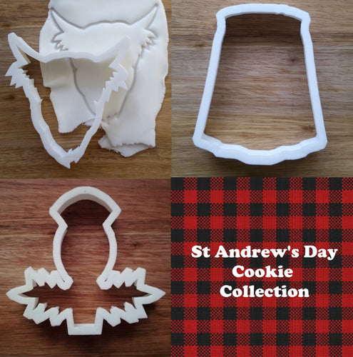 St Andrews Day Cookie Cutter collection