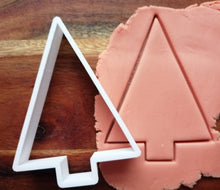 Load image into Gallery viewer, Triangle Tree Christmas Cookie Cutter demp