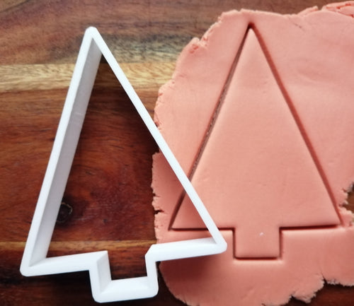 Triangle Tree Christmas Cookie Cutter demp