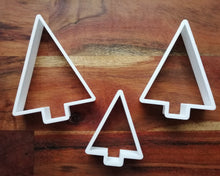 Load image into Gallery viewer, Christmas Tree Triangle Shape cookie cutter