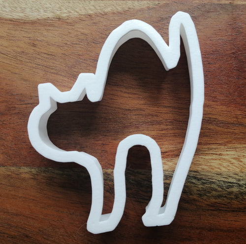 Cat Arched Back Cookie Cutter