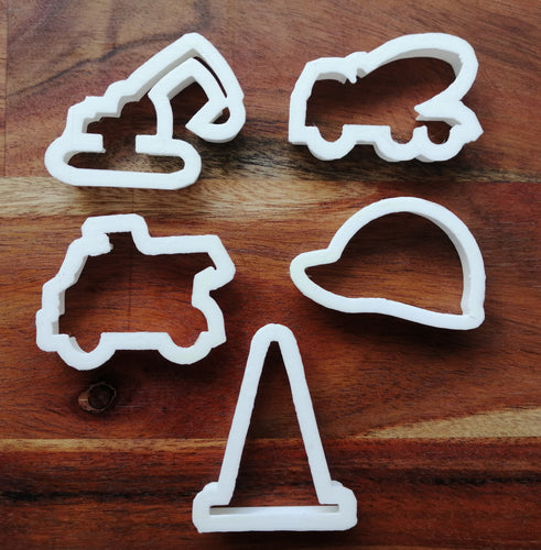 Construction Vehicle Cookie Cutters
