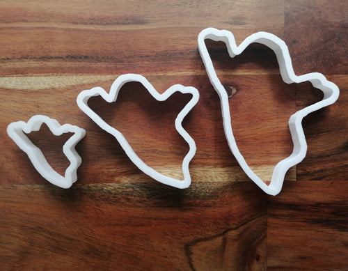 Set of 3 Ghost cookie Cutters