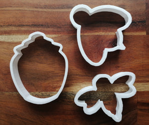 Set of 3 Honey Bee Cookie Cutters