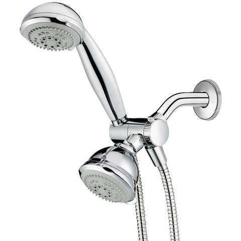Conair(R) CHCC1 6-Setting Combination Showerhead Set with Microban(R) Protection