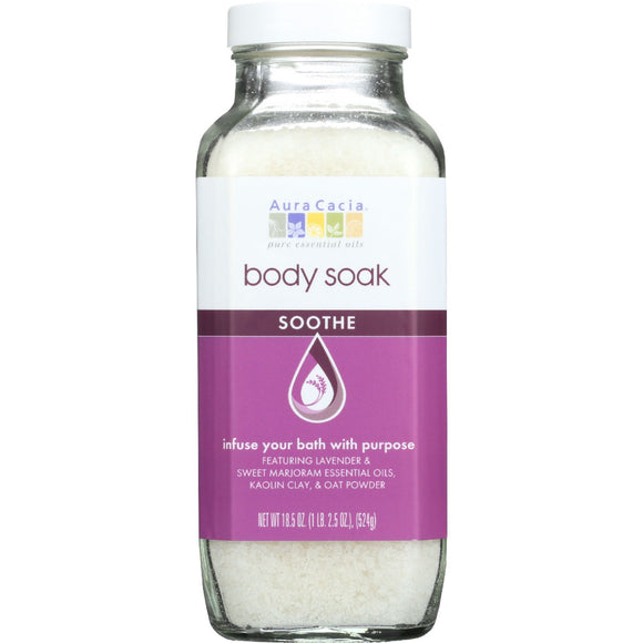 Aura Cacia Body Soak - Soothe - 18.5 oz - 1 each