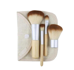 4 Pieces Multi-function Makeup Brushes Convenient Makeup Brushes