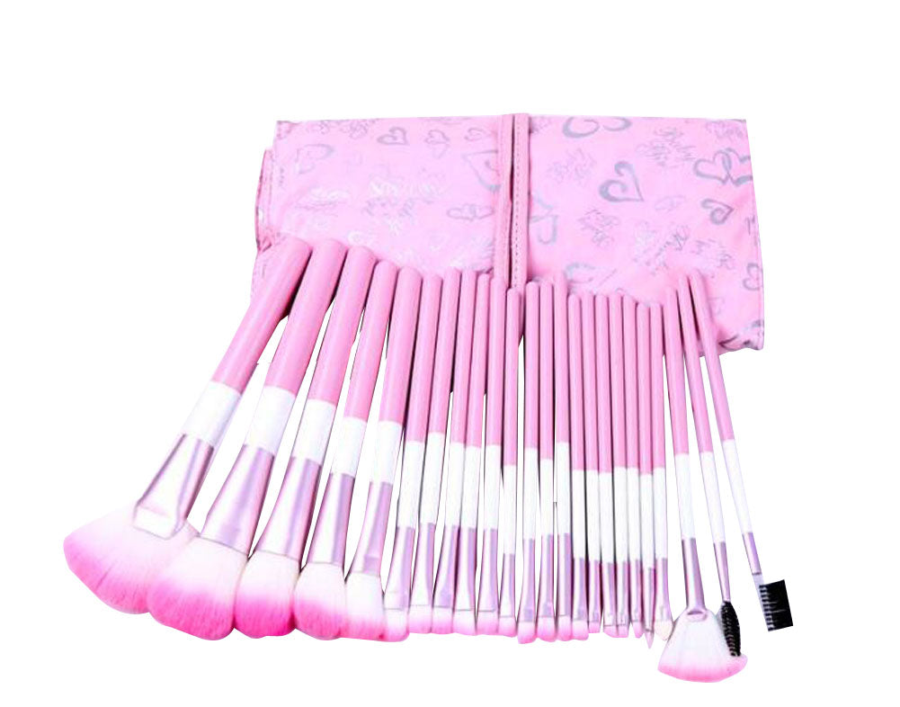 24 Pieces Multi-function Makeup Brushes Convenient Makeup Brushes