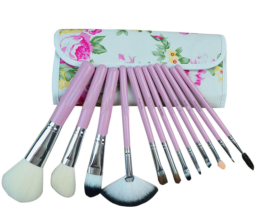 12 Pieces Makeup Brushes Multi-function Makeup Brushes For Woman