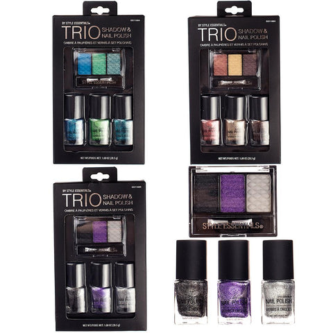 Style Essentials Ombre Nail Polish & Eye Shadow Sets Case Pack 48