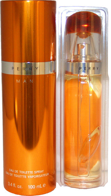 Men Perry Ellis Perry EDT Spray 3.4 oz