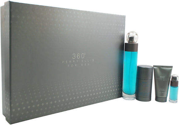 Perry Ellis - 360 4 piece Gift Set - #1203