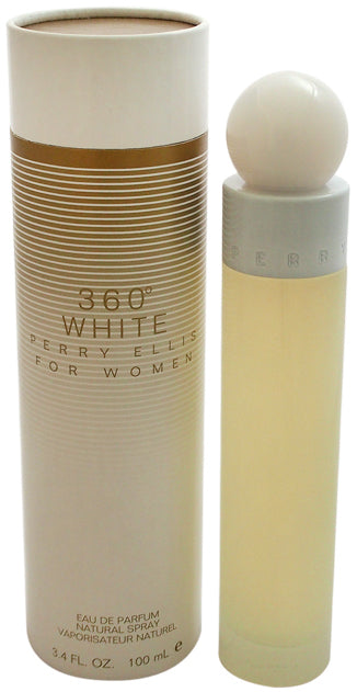Women Perry Ellis 360 White EDP Spray 3.4 oz