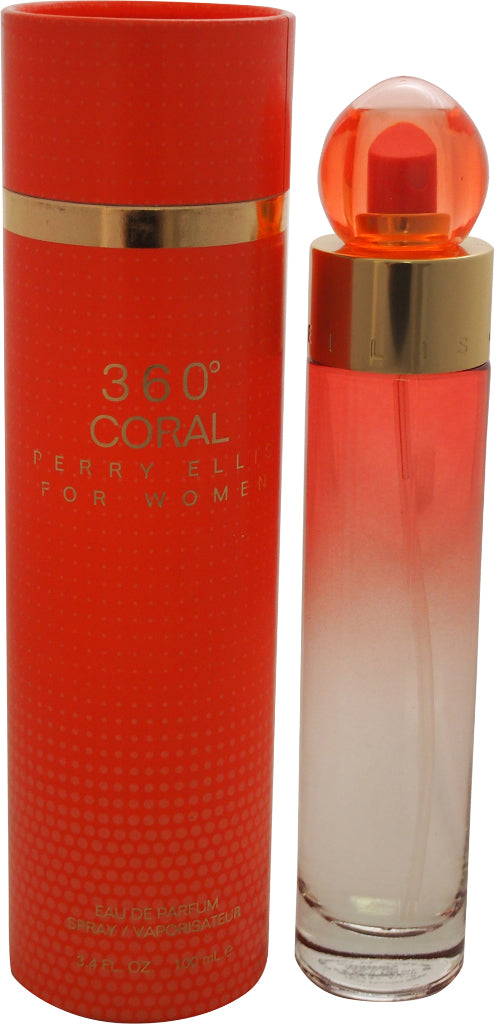 Perry Ellis - 360 Coral EDP Spray 3.4 oz.