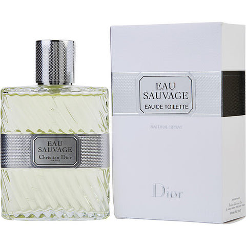 EAU SAUVAGE by Christian Dior EDT SPRAY 3.4 OZ