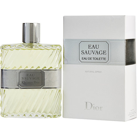 EAU SAUVAGE by Christian Dior EDT SPRAY 6.8 OZ