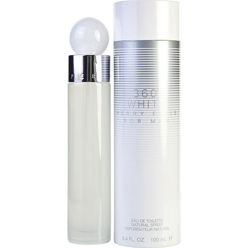 PERRY ELLIS 360 WHITE by Perry Ellis EDT SPRAY 3.4 OZ
