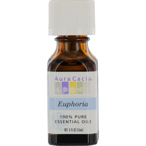 ESSENTIAL OILS AURA CACIA by Aura Cacia EUPHORIA-ESSENTIAL OIL BLEND .5 OZ