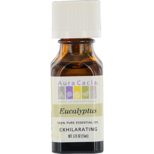 ESSENTIAL OILS AURA CACIA by Aura Cacia EUCALYPTUS-ESSENTIAL OIL .5 OZ