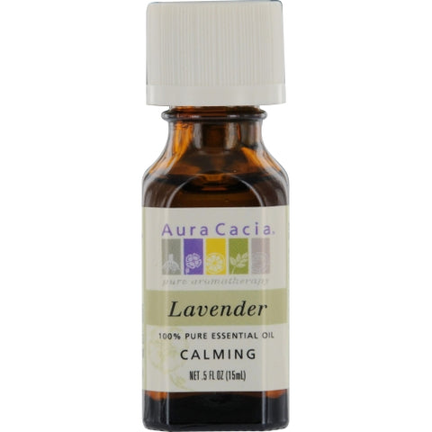 ESSENTIAL OILS AURA CACIA by Aura Cacia LAVENDER-ESSENTIAL OIL .5 OZ